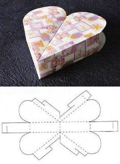 imagenes de moldes de cajas de regalo - Buscar con Google