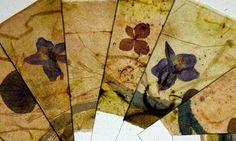 Letting in the Light: Teabag Art Cards