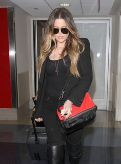 OMBRE HAIR COLOR  Khloe Kardashian