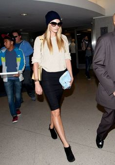 Low-key, high-end. Candice Swanepoel knows how to work it.