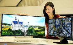 """LG ha anunciado oficialmente su nueva familia UltraWide de los monitores 4K, que en la actualidad se compone de tres miembros - 29 """", 31 """" y el buque insignia de 34 """""""