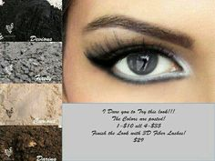 I dare you to try this #look. #Younique eye shadows 100% pigments and very color intensive. www.youniqueproducts.com/SimoneProctor