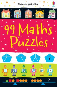 #Maths #puzzles #learning #usborne #activities #childrensbooks