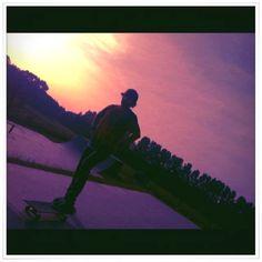 Skateboarding, Celestial, Sunset, Concert, Outdoor, Outdoors, Skateboard, Concerts, Sunsets