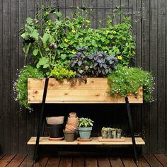Pots à fleurs et jardinières design en 60 idées de déco extérieure
