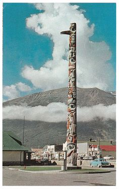 native american totem pole
