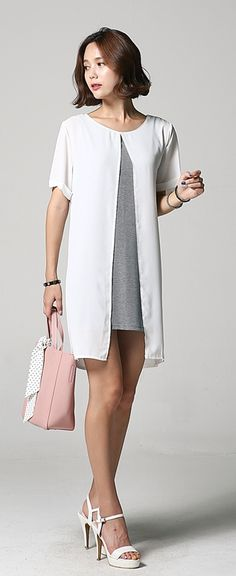Korean Dress Wholesale Online Store. I love this, perfect for the office or a casual date