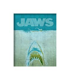 BOGO  Jaws Shark Week Shark Attack Retro by TheRekindledPage, $9.98