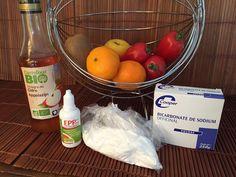 Nettoyer fruits et légumes des pesticides Potager Bio, Calories, Eggs, Breakfast, Food, Fruits And Veggies, Sodium Bicarbonate, Eat Right, Cleanser