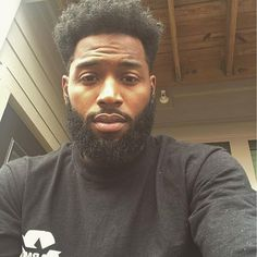 Grow a healthy mustache and beard with Beard and Company's all-natural hair and beard care products made in Colorado. Fine Black Men, Gorgeous Black Men, Handsome Black Men, Fine Men, Beautiful Men, Black Man, Black Men Hairstyles, Haircuts For Men, Curly Hairstyles
