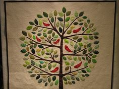 Lilly Pilly Tree 3 by CeliaBlueQuilts, via Flickr