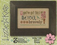 Lizzie Kate Flip-It Series - 3 Little Words - You've Got This – Stoney Creek Online Store
