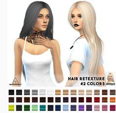 Miss Paraply: Nightcrawler G.U.Y. hairstyle retextured  - Sims 4 Hairs - http://sims4hairs.com/miss-paraply-nightcrawler-g-u-y-hairstyle-retextured/