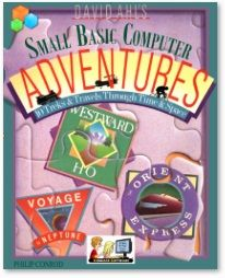The computer adventure simulations you will develop in this tutorial are based on historical personalities  like Marco Polo, Amelia Earhart,  and on historical events like the Tour de France, and the 1847 Oregon Trail.  We have also included some fiction adventure simulations like Voyage to Neptune and the Hong Kong Hustle.  All of these adventure simulations were originally written by David H. Ahl whose computer programming books helped start the personal computer programming revolution.