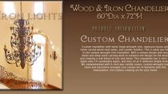 Visit our site http://www.ironlights.com/intro.php for more information on Wrought Iron Chandeliers.The structures are Wrought Iron, including the finishing touch to a splendid component. The ageless beauty of the wrought chandelier is sure to lend an unique atmosphere anywhere its placed! There are a lot of types of Wrought Iron Chandeliers and lighting in today's day.