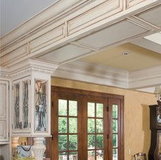 Antique your molding with glaze