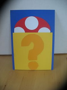 "Invitations; pull the mushroom out of the ""?"" - Super Mario party"