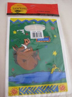 Vintage Lion King Party Goody Bags by VintageByThePound on Etsy