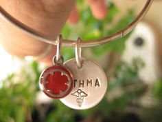 NEONBLOND Personalized Name Engraved Medical Alert Red Mushroom Allergy Dogtag Necklace
