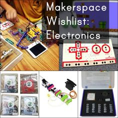 I've seen a lot of interest lately on Twitter on dream Makerspace wishlists.  I'm so excited to see so many teachers and librarians working on grants and proposals to get Makerspaces in their schoo...