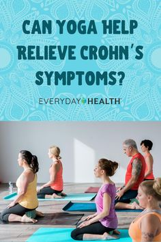 Learn more about the benefits of yoga for Crohn's. Disease Symptoms, Crohn's Disease, Relaxation Response, Meditation Exercises, Mindfulness Techniques, Irritable Bowel Syndrome, Dealing With Stress, Restorative Yoga, Crohns