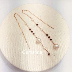Beaded Earrings, Earrings Handmade, Beaded Jewelry, Pearl Jewelry, Jewelery, Jewelry Accessories, Jewelry Design, Layered Jewelry, Homemade Jewelry