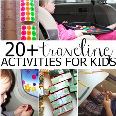 Simple activities for traveling with kids, plus a great hack you don't want to miss.