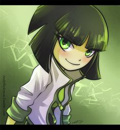 Buttercup / The Powerpuff Girls! She was my favorite when I was little.