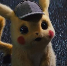 See more 'Detective Pikachu' images on Know Your Meme! Pikachu Funny, Cute Pokemon, Wallpaper Iphone Disney, Pokemon Fan Art, Cute Cartoon Wallpapers, Manga, Panzer, Cute Drawings, Kawaii Anime