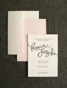 Invitations | handlettered-wedding-invitations1.jpg 500×652 pixels