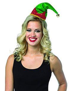 46c635ce05f Amazon.com  Rasta Imposta Women s Elf Hat Holiday Headband