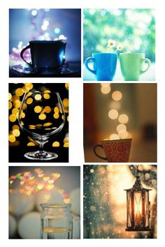 Bokeh Photography: Manually focus everything so the lights in the background are  out of focus, and the subject (if there is one) is in focus. Also keep a small depth-of-field with a small aperture so the background is easily blurred (Av on the top options). Not my pictures, by the way!