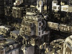 The Architect of These Monstrous Alien Cities Is an Algorithm -  Daniel Brown crafts entire cities using algorithms and a bit of imagination. The post The Architect of These Monstrous Alien Cities Is an Algorithm appeared first on WIRED.