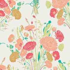 Sweet Nostalgia Antique - REMINISCE  - Art Gallery Fabrics - Bonnie Christine - By the Yard by MoonaFabrics on Etsy https://www.etsy.com/listing/185578726/sweet-nostalgia-antique-reminisce-art