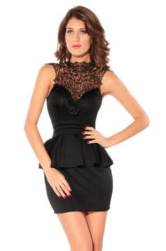 Charming Round Neck Flouncing Sleeveless dress