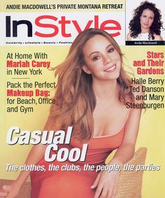 InStyle Magazine Covers: 1998 - July, Mariah Carey from #InStyle