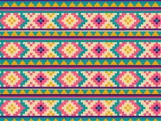 """Tribal print"" by ashkenazigal Abstract, American Culture, American Tribal Culture, Aztec, Backgrounds, Fabric Swatch, Geometric Shape, Indigenous Culture, Mexico, Navajo"