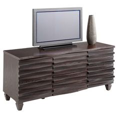 I pinned this Caravaggio Media Stand from the Sunpan Modern Home event at Joss and Main!