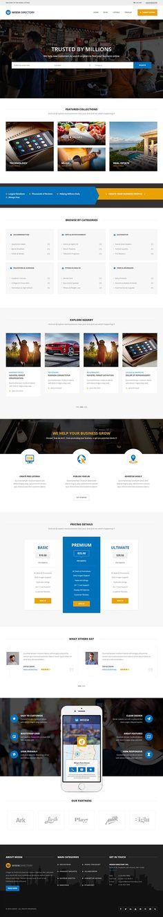 Multi-Purpose Directory WordPress Theme : Wisem