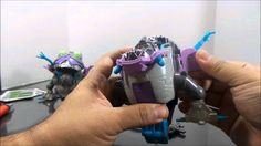 Video Review of Ko G1 Transformers Sharkticon Decepticon Gnaw
