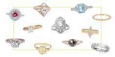 """The Top Engagement Ring Trends to """"Rock"""" in 2016"""