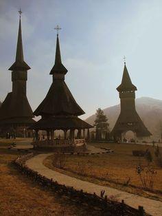 Maramures - Manastirea Barsana