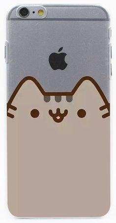 Rilakkuma Pusheen Transparent Case Cover for iPhone 7 7 Plus 6 6S Plus 5 5S SE 5C 4 4S