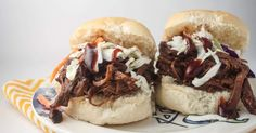 Barbecue Beef Sliders - Slender Kitchen