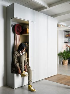 Modular storage system Freedhome by Caccaro
