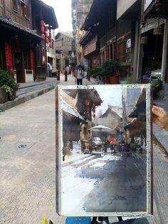 Chien Chung Wei in Kai, China