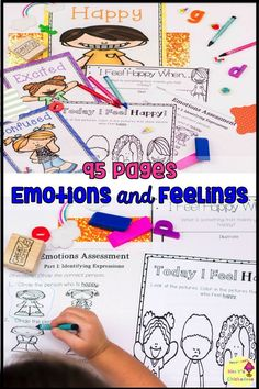 Character building and social skill practice perfect for kindergarten and first grade students. Worksheets, activities, posters, anchor chart activities