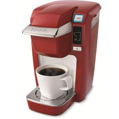 So you're saying is that this gift comes in classic red, doesn't take up too much room AND makes me coffee? Sold.