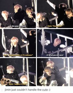 No one can handle V's cuteness