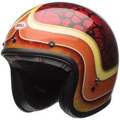 #apparel Bell Custom 500 SE Hart Luck Red/Black Motorcycle Helmet - Size Medium please retweet